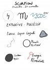 Astrological signs ring