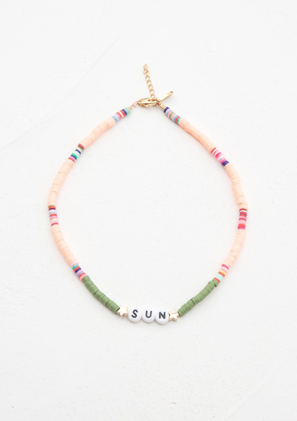 CUSTOMIZED SURFER'S NECKLACE