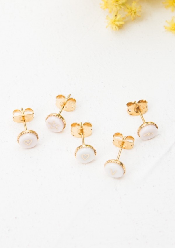 Puce d'oreille Sparkling By Blanche